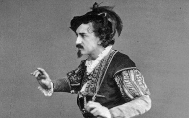 Edwin Booth as Iago in Othello. (Public Domain/ Wikimedia Commons)