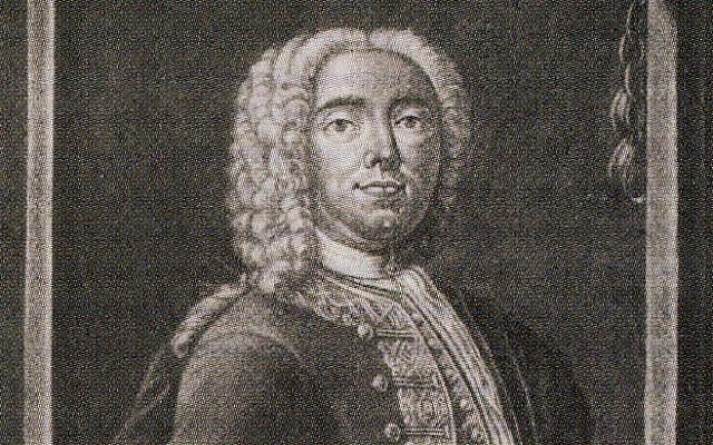 Engraving of Joseph Süss Oppenheimer, 1738. (Public Domain/ Wikimedia Commons)