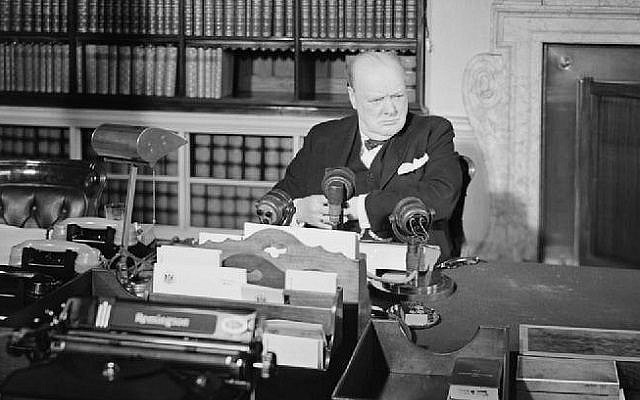 Winston Churchill, the British Prime Minister, had a decisive role in the Second World War [Image: Imperial War Museum]