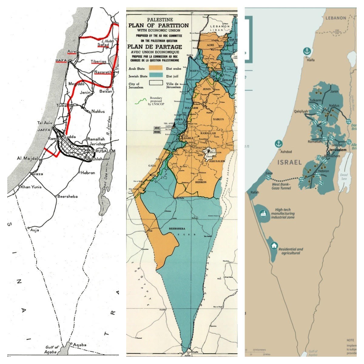 How Does Trump S Partition Plan Compare Martin Kramer The Blogs