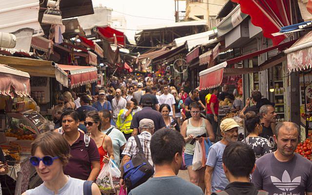 Carmel Market, Tel Aviv, June 2019 (iStock)