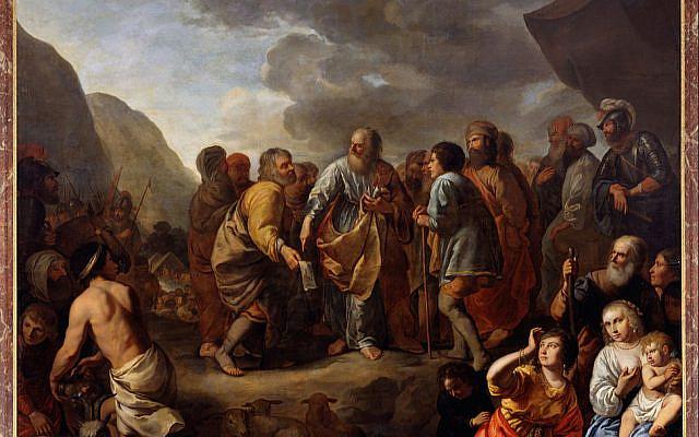 Jethro advising Moses, Jan van Bronchorst, 1659. (Wikimedia Commons)
