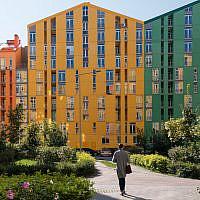 Residential complex in Kiev, Ukraine