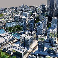 Futuristic City by WireCASE3D