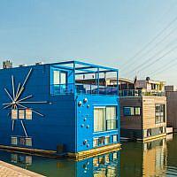 IJburg floating housing, Amsterdam.
