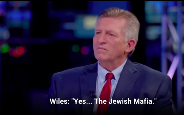 Far-right conspiracy theorist Rick Wiles. (Screenshot via ADL)