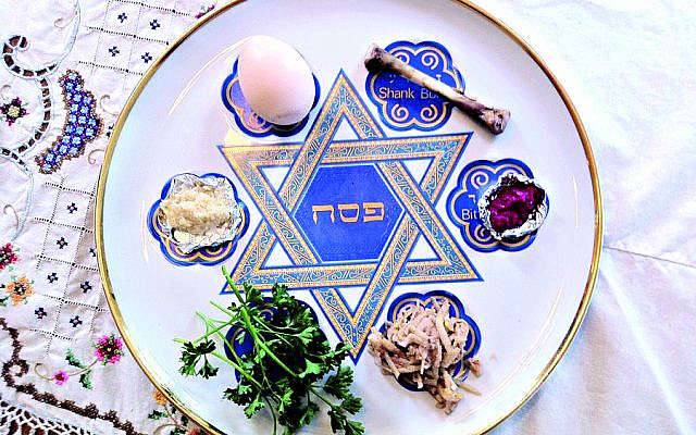 Illustrative. Seder plate. (Jewish News)