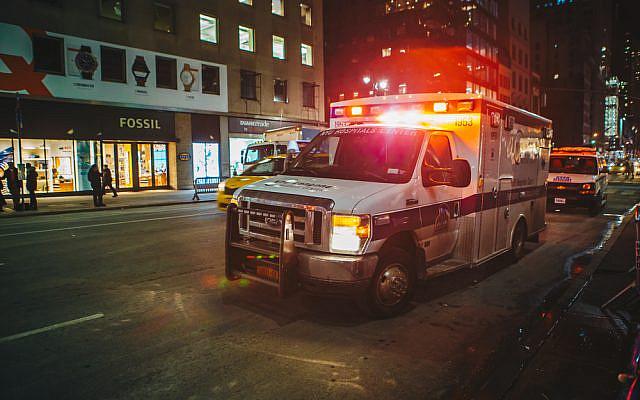 Illustrative. Ambulance in Brooklyn. (via YouTube)