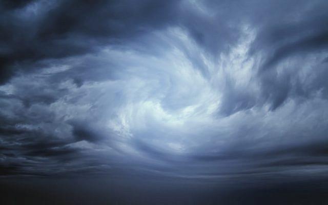 Illustrative. A stormy, windblown sky. (iStock)