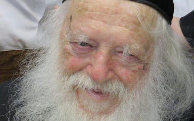 Chaim Kanievsky  (Wikipedia/Authorמוישימי/ (CC BY-SA 4.0)  via Jewish News)