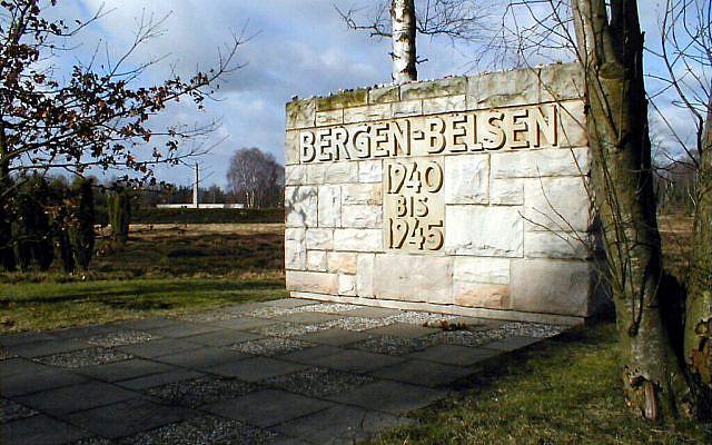 Memorial stone in the grounds of Bergen-Belsen (Photo credit: Klaus Tatzler/Lower Saxony Memorials Foundation/PA Wire via Jewish News)