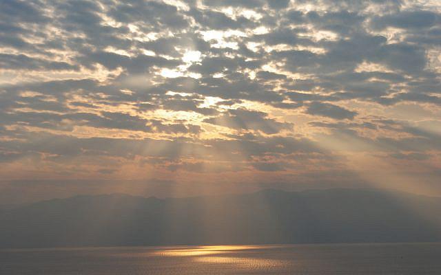 The Dead Sea from Ein Gedi. (Photo: Dexter Van Zile)