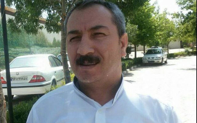 Mostafa Salimi, an Iranian Kurd who was executed on Saturday morning