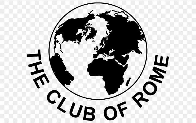 The logo of The Club of Rome. (Wikipedia)