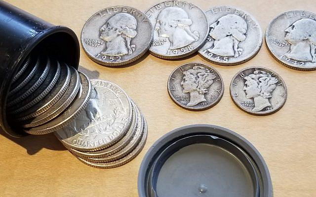 Silver tip money, circa 1966