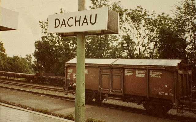 Train station of the town of Dachau (Photo: Steve North)