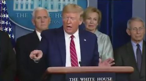 Stop airing Trump's Corona Virus press briefings, they will get people killed