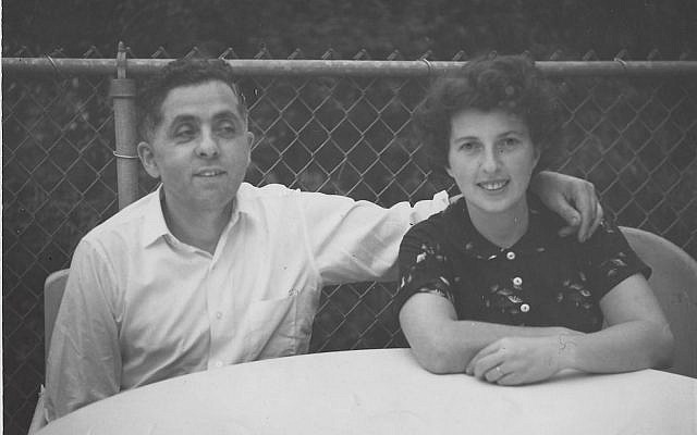 Morris and Sara in the 1950s in Brooklyn, NY (courtesy)