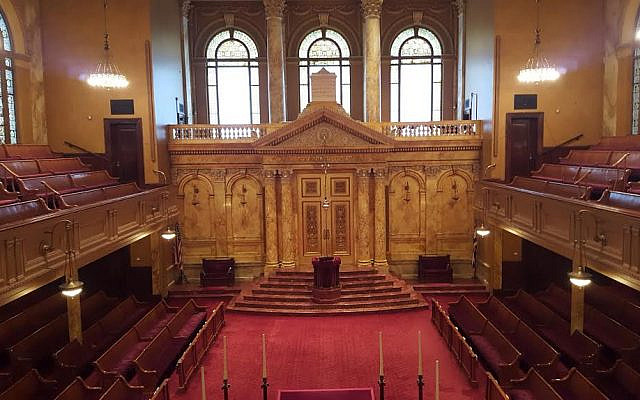 Congregation Shearith Israel in New York. (Courtesy)