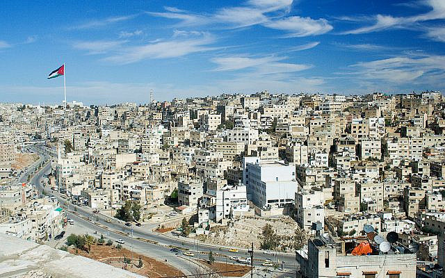 A view of eastern Amman from Jabal al-Qal'a (Jewish News)