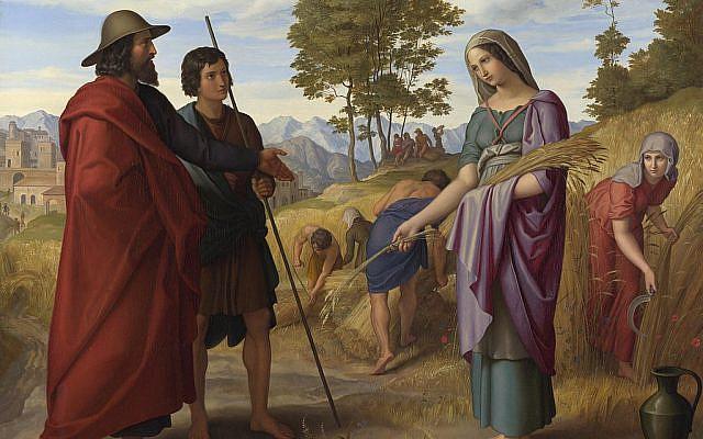 'Ruth in Boaz's Field,' by Julius Schnorr von Carolsfeld. (Wikipedia)