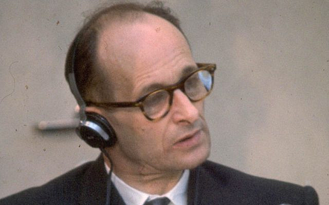 Adolf Eichmann is the only man to have been executed in Israel (Jewish News)
