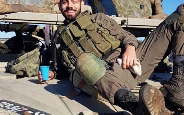 """Amit Ben Igual z""""l.  Photo (c) IDF, 2020"""