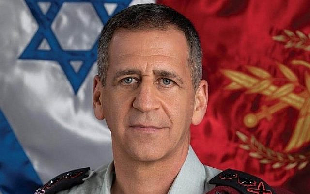 Lieutenant General Aviv Kochavi, the Chief of General Staff of the Israel Defense Forces. (Wikipedia)