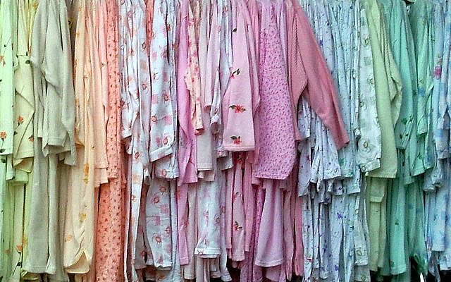 A robust selection of pajamas... (Erich Ferdinand)