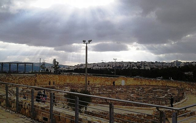 God's Glory over Jerusalem, Miriam Leah