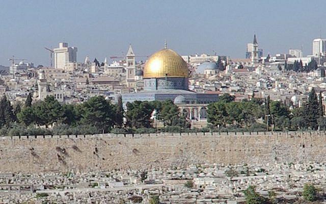 Temple Mount in Jerusalem (Jewish News)