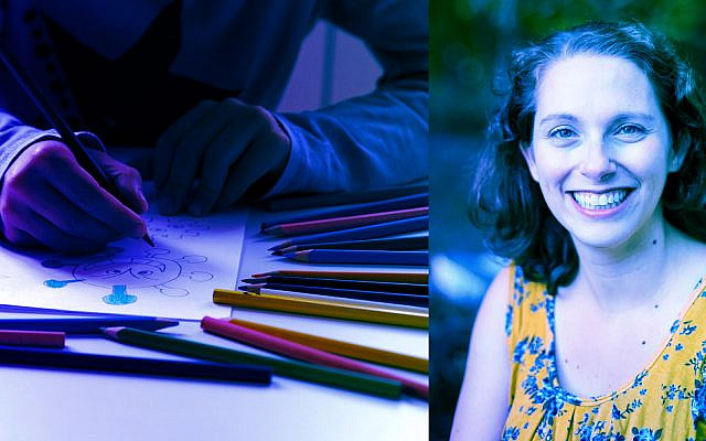 A homeschooler coloring; Bethany Mandel (Getty Images; Courtesy of Mandel)