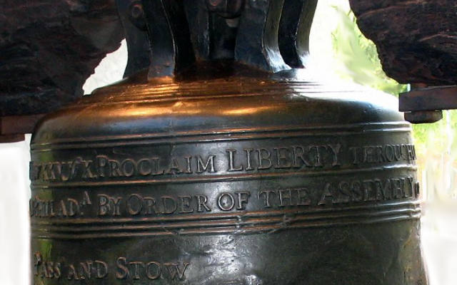 Liberty Bell detail, licensed for reuse (CC BY 2.0), Flickr