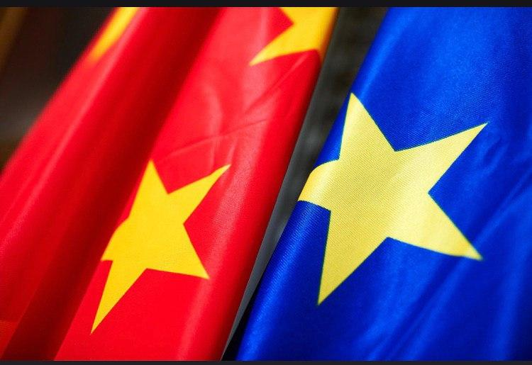 Drawing the EU Global Economy with Chinese Divider