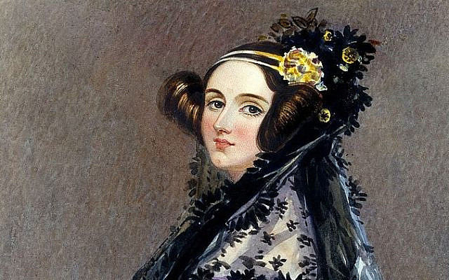 Watercolour portrait of Ada King, Countess of Lovelace, circa 1840, possibly by Alfred Edward Chalon. (Public Domain/ Wikimedia Commons)