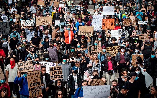 A Protest (Darryl Dyck/The Canadian Press via AP)