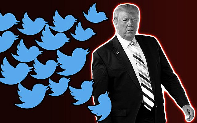 US President Donald Trump and Twitter (Getty Images/70 Faces Montage)