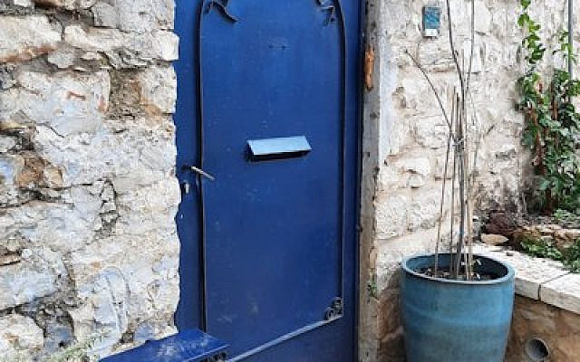The Ashrei is a portion of Jewish prayer: Happy are they who dwell in Your house, Safed, Israel, (photo credit Levinsky).