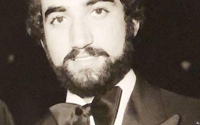 Iranian Jewish businessman Ebrahim Berookhim who was randomly beaten and executed by Iranian regime in July 1980. Photo courtesy of Berookhim family.