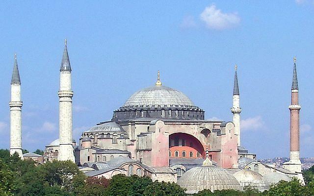 Hagia Sophia - Wikipedia. CC BY-SA 3.0 Robert Raderschatt
