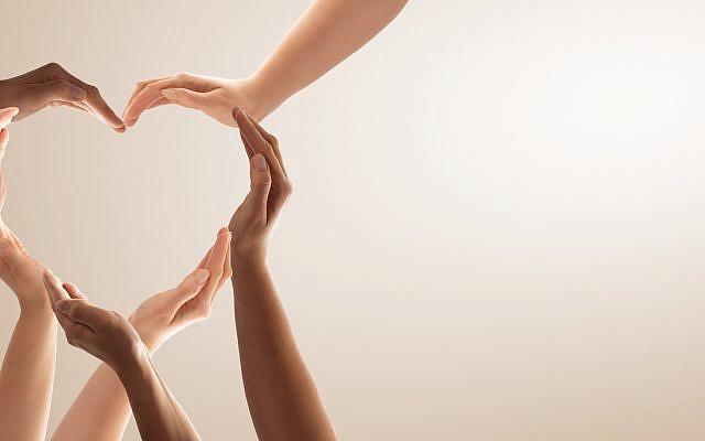 Hands make a heart. (iStock)