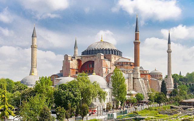 Hagia Sophia (via iStock)
