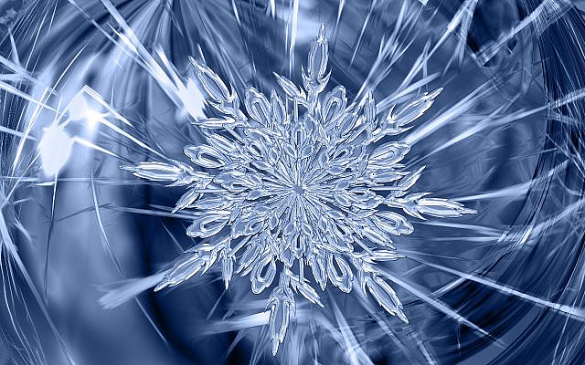 Ice Crystal. Image by Gerd Altmann from Pixabay.