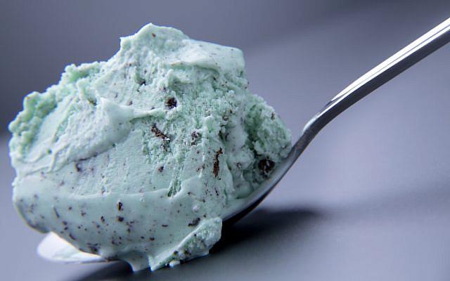 Mint chocolate chip ice cream. (iStock)