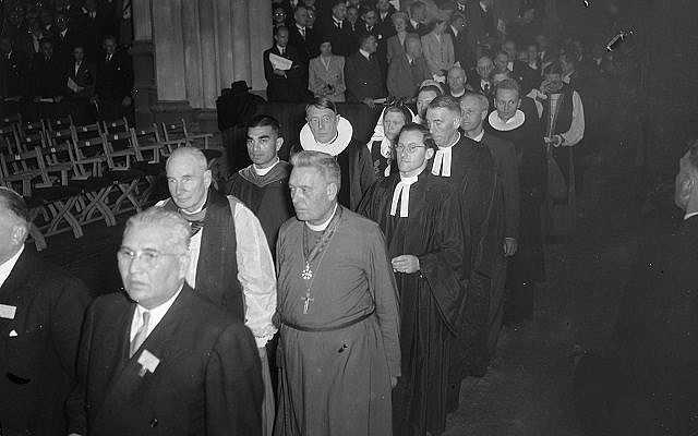 The World Council of Churches was established in August 1948. (Wikimedia Commons, public domain)