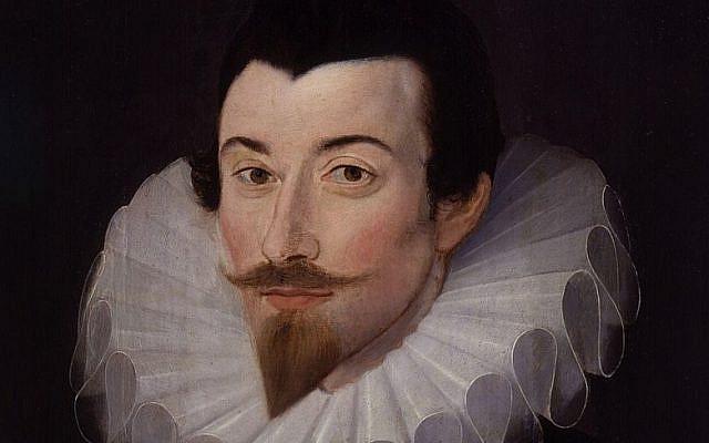 Portrait of John Harington. Attributed to Custodis. (Public Domain/ Wikimedia Commons)