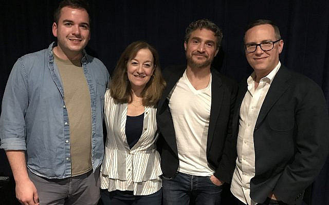 At LA screening. 