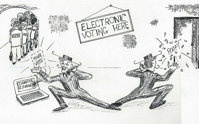 Stealing elections?  Image used by permission of VoteAllegheny.org.