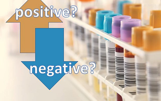 When positive = negative  -  graphic by Nili Bresler
