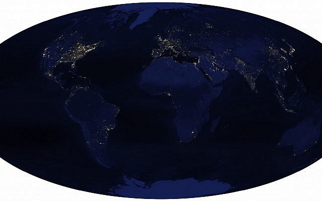 Many thousands of points of light as viewed from NASA's Earth Orbiting Satellite
